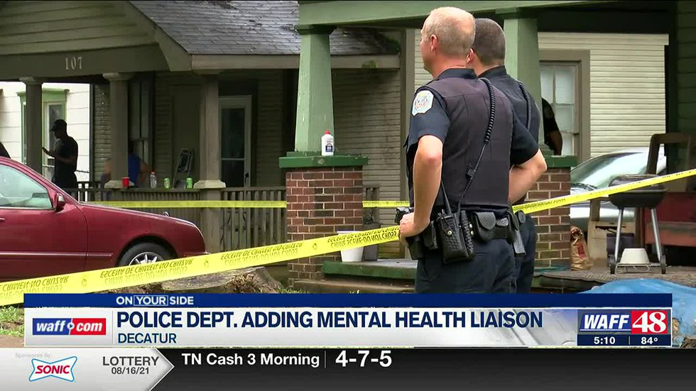 Decatur Police Department Adds Mental Health Liaison Position Waff