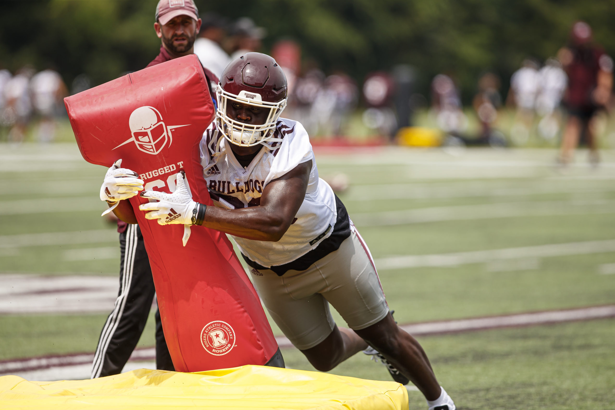Depth Health Will Define Bulldogs Defensive Line The Dispatch The Commercial Dispatch