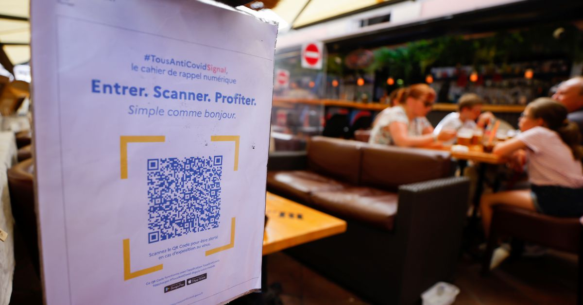 French Shopping Malls To Require Covid 19 Health Pass Reuters