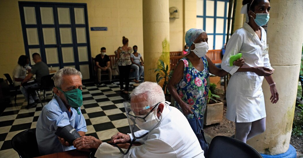 Overwhelmed By Coronavirus Cubas Vaunted Health System Is Reeling The New York Times
