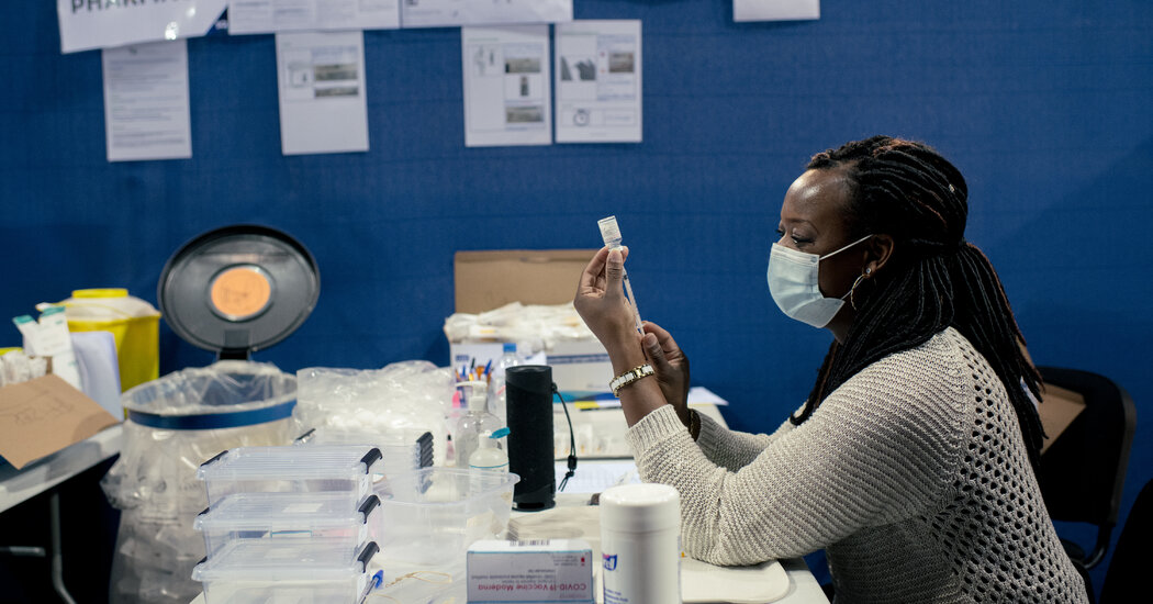 The Prospect Of Booster Shots Is Igniting A Global Health Debate The New York Times